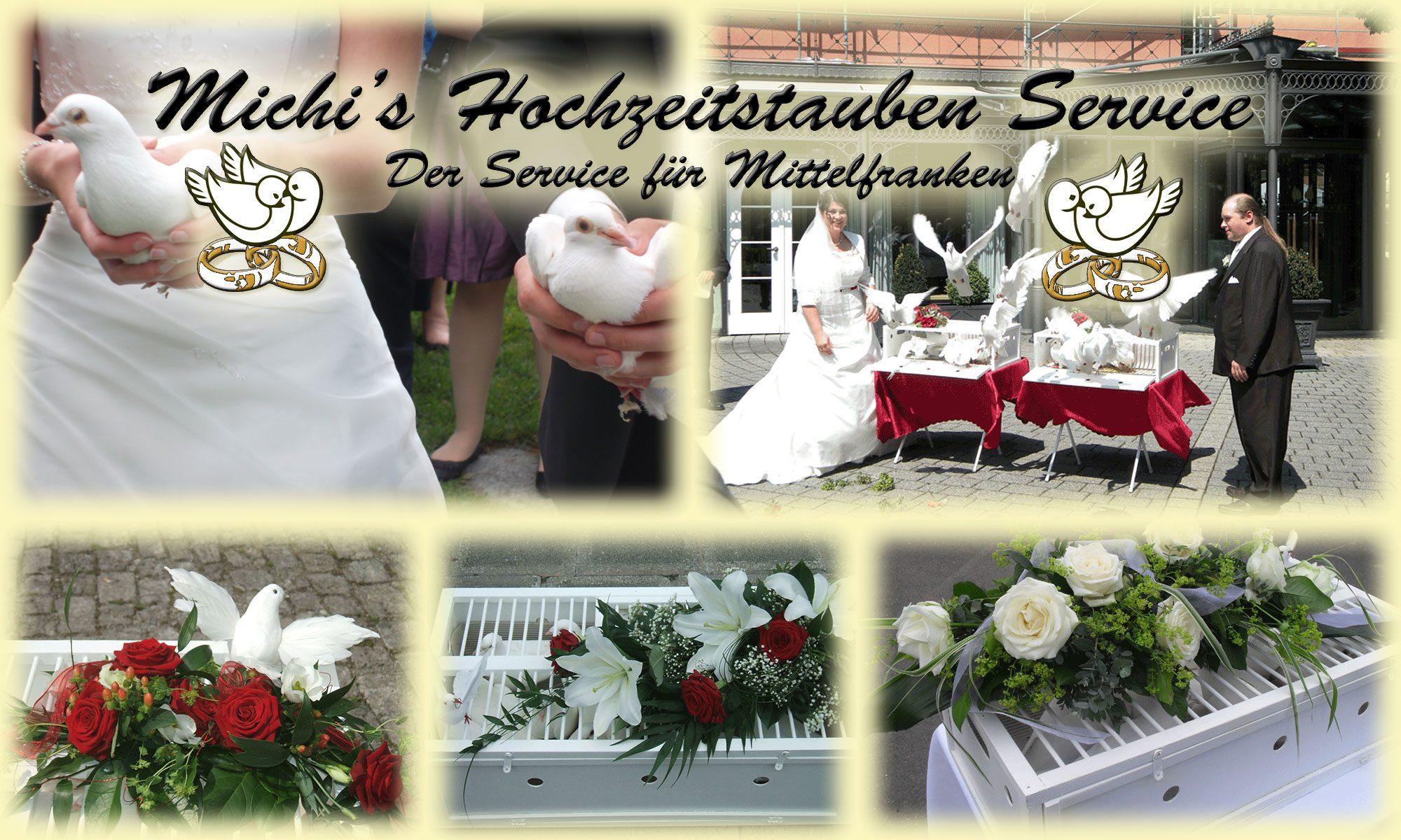 Preise Leistung Michis Hochzeitstauben